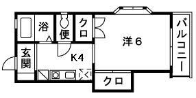 すみれ野舘Ⅰ・Ⅱ_201号室(小田原市蓮正寺)のサムネイル