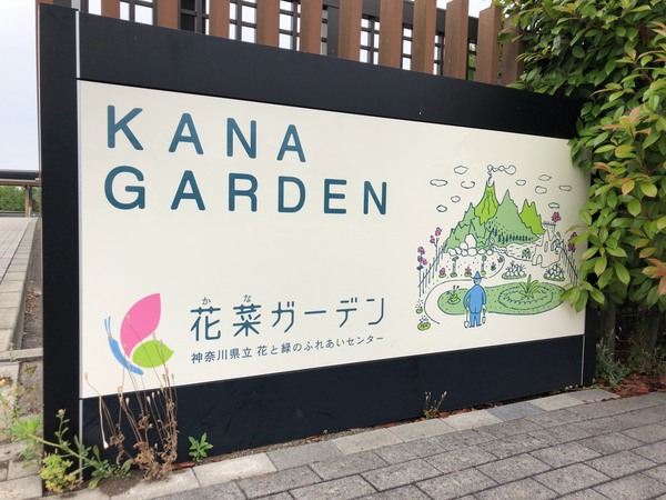 花菜ガーデンで癒しの時